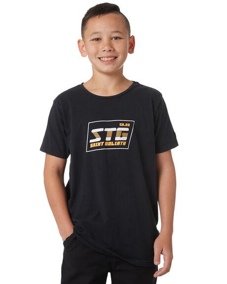 BLACK KIDS BOYS ST GOLIATH TOPS - 2420005BLK