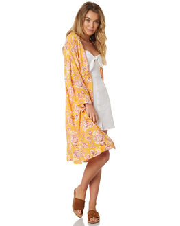 SUMMER FLORAL WOMENS CLOTHING ALL ABOUT EVE FASHION TOPS - 6423046PRNT