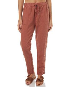 TERRACOTTA WOMENS CLOTHING RUSTY PANTS - PAL0994TRC