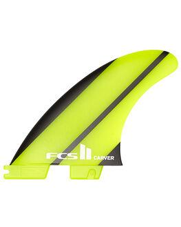 GREEN BOARDSPORTS SURF FCS FINS - FCAR-NG01-TS-RGRN