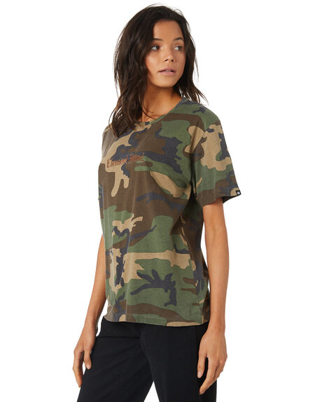 CAMO WOMENS CLOTHING ELEMENT TEES - 296008CAM