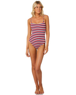 AMERICAN RIB WOMENS SWIMWEAR SOLID AND STRIPED ONE PIECES - WS-1936-1439AMRC