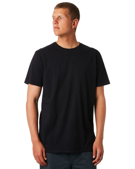BLACK MENS CLOTHING SWELL TEES - S5164003BLK