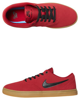 RED CRUSH MENS FOOTWEAR NIKE SKATE SHOES - 843895-601