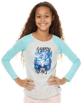 GREY MARLE KIDS GIRLS EVES SISTER TOPS - 9990076GRYMR