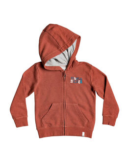 REDWOOD HEATHER KIDS BOYS QUIKSILVER JUMPERS + JACKETS - EQKFT03311-MNLH