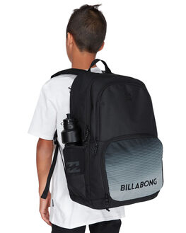 BLACK GREY MENS ACCESSORIES BILLABONG BAGS + BACKPACKS - 9695010BBLKG