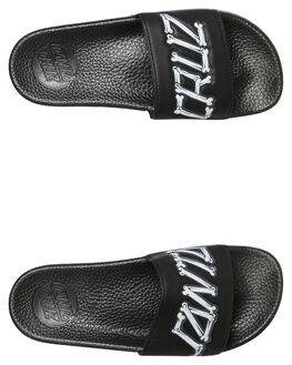BLACK KIDS BOYS SANTA CRUZ THONGS - SC-YYD9301BLK