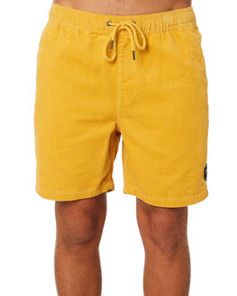 BRIGHT YELLOW MENS CLOTHING RIP CURL SHORTS - CWALR19328