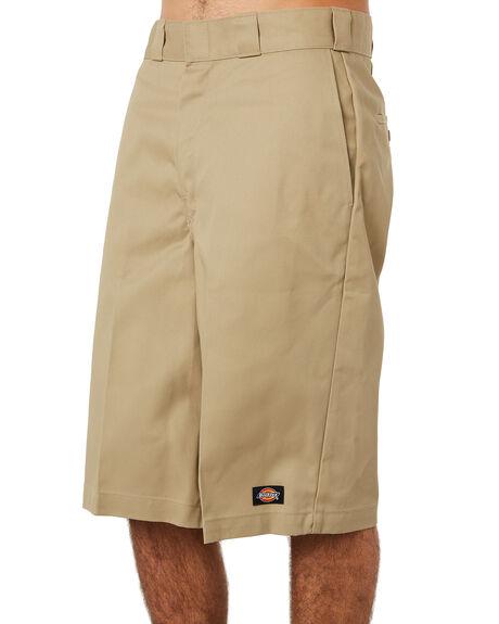 KHAKI MENS CLOTHING DICKIES SHORTS - DCK42283KHA1