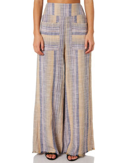 PURPLE WOMENS CLOTHING FREE PEOPLE PANTS - OB914343-5500