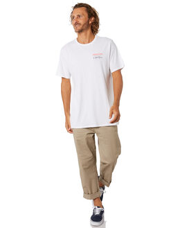 WHITE MENS CLOTHING DEPACTUS TEES - D5204003WHITE