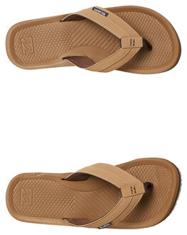CAMEL MENS FOOTWEAR BILLABONG THONGS - 9685942CAM