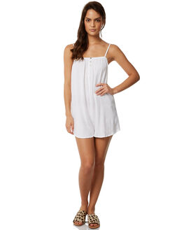 WHITE WOMENS CLOTHING THE HIDDEN WAY PLAYSUITS + OVERALLS - H8171457WHITE