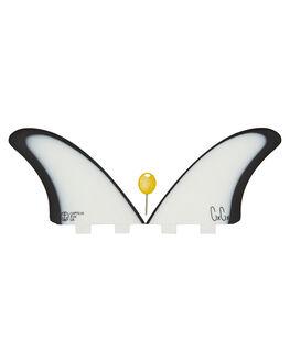 WHITE BLACK BOARDSPORTS SURF CAPTAIN FIN CO. FINS - CFF4411804WBLK