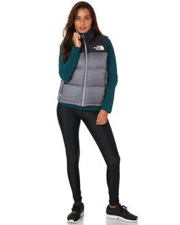 TNF MEDIUM GREY WOMENS CLOTHING THE NORTH FACE JACKETS - NF0A3XEPDYY