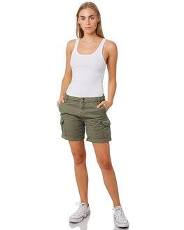 ARMY WOMENS CLOTHING RUSTY SHORTS - WKL0508ARMY