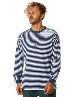 NAVY BLUE MENS CLOTHING RUSTY TEES - TTM2105NVB