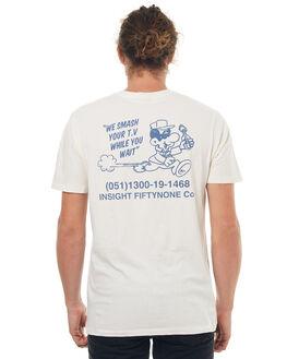 WHITE MENS CLOTHING INSIGHT TEES - 5000000304WHT