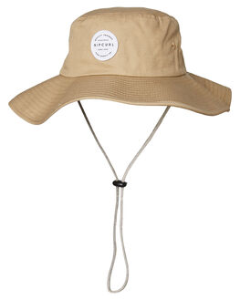KHAKI MENS ACCESSORIES RIP CURL HEADWEAR - CHAEB10064