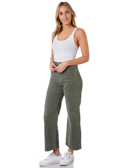 GUMNUT CORD WOMENS CLOTHING A.BRAND JEANS - 71571-5203
