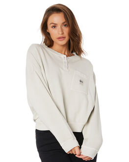 CEMENT WOMENS CLOTHING STUSSY JUMPERS - ST105309CEMT