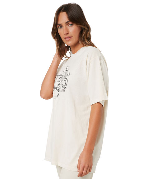 HERITAGE WHITE WOMENS CLOTHING THRILLS TEES - WTA21-109AHWHT