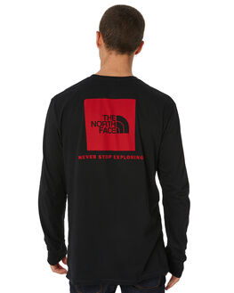 BLACK MENS CLOTHING THE NORTH FACE TEES - NF00CA0EKX9