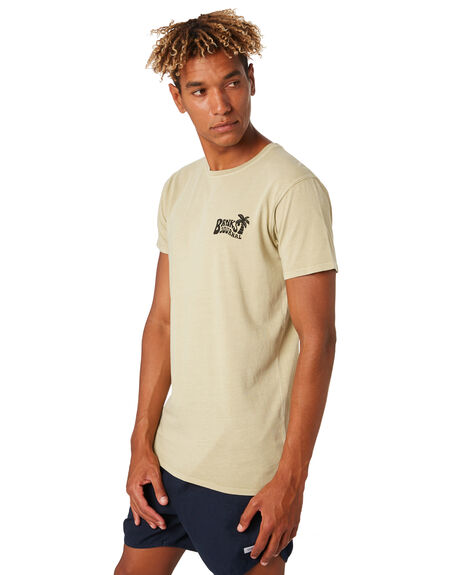 LEMON GRASS MENS CLOTHING BANKS TEES - WTS0421LMG