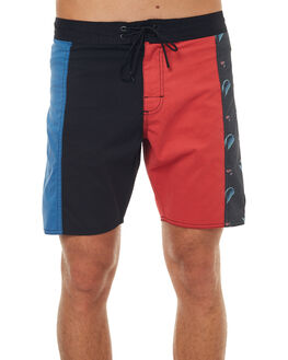 BLACK MENS CLOTHING RVCA BOARDSHORTS - R172410BLK