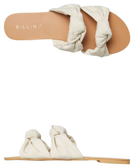 NATURAL LINEN WOMENS FOOTWEAR BILLINI FASHION SANDALS - S537NATLI