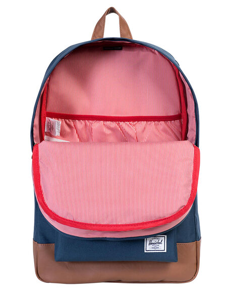 NAVY TAN MENS ACCESSORIES HERSCHEL SUPPLY CO BAGS + BACKPACKS - H-123-29-04-OS