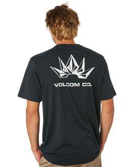 BLACK MENS CLOTHING VOLCOM TEES - A5001933BLK