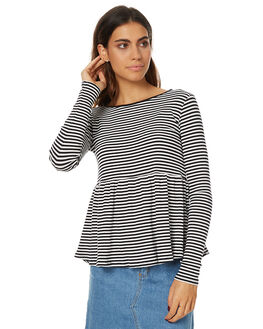 STRIPE WOMENS CLOTHING SWELL TEES - S8173101STR