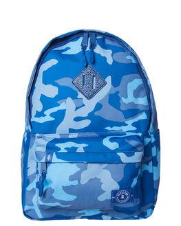 WOODLAND CAMO BLUE KIDS BOYS PARKLAND BAGS + BACKPACKS - 20008-00266