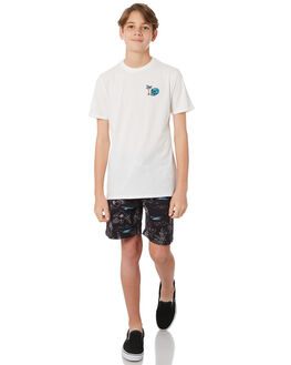 OFF WHITE KIDS BOYS SWELL TEES - S3184014OFFWH