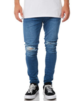 BLUE STING TRASH MENS CLOTHING ZIGGY JEANS - ZM-1321BLSTT