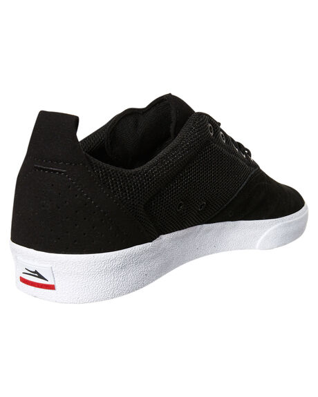 BLACK WHITE MENS FOOTWEAR LAKAI SNEAKERS - MS1180249ABKWH