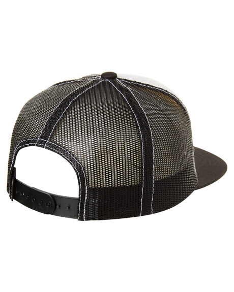 BLACK/WHITE KIDS BOYS SANTA CRUZ HEADWEAR - SC-YCN018BKWH