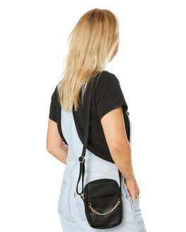 BLACK WOMENS ACCESSORIES RUSTY BAGS + BACKPACKS - BFL1052BLK