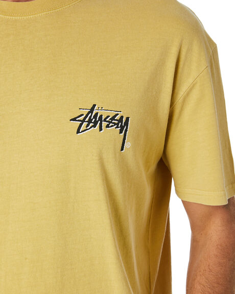 PIGMENT BUTTER MENS CLOTHING STUSSY TEES - ST016002PGBUT