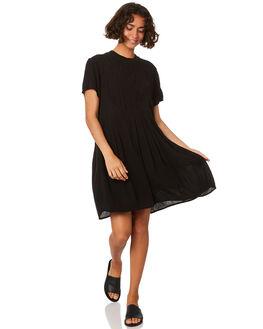 BLACK WOMENS CLOTHING VOLCOM DRESSES - B1311913BLK
