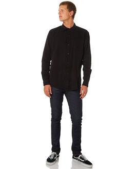 WASHED BLACK MENS CLOTHING SWELL SHIRTS - S5164669WSHBK