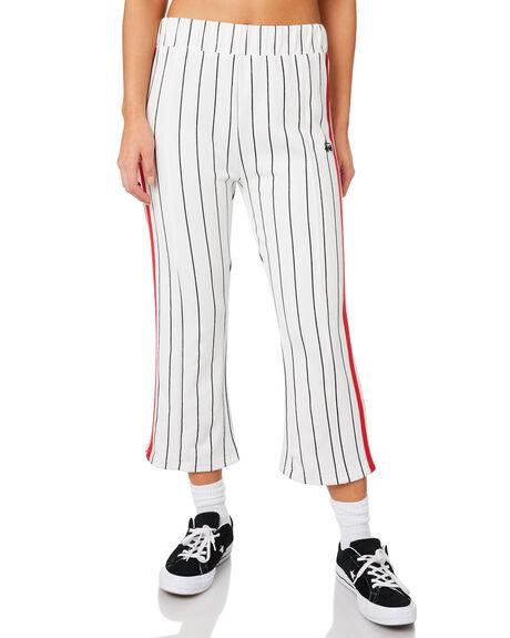WHITE WOMENS CLOTHING STUSSY PANTS - ST183611WHI