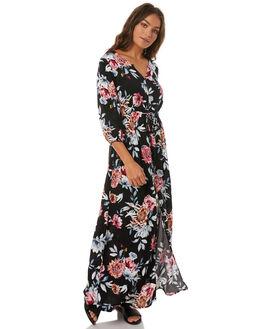 BLACK WOMENS CLOTHING RIP CURL DRESSES - GDRA28BLK