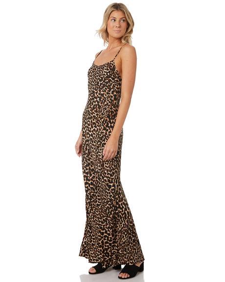 LEOPARD WOMENS CLOTHING TIGERLILY DRESSES - T393444LEO