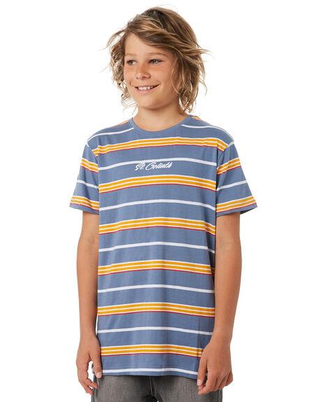 BLUE KIDS BOYS ST GOLIATH TOPS - 2420009BLU