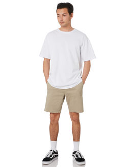 KHAKI MENS CLOTHING SWELL SHORTS - S5173250KHAKI