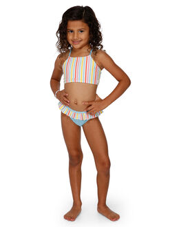 ANTIQUE WHITE KIDS GIRLS BILLABONG SWIMWEAR - BB-5591563-A75