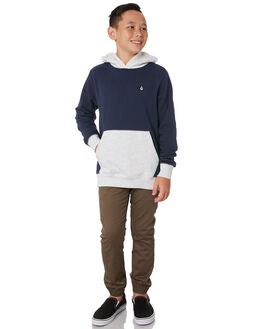 DEEP BLUE KIDS BOYS VOLCOM JUMPERS + JACKETS - C4131706DPB